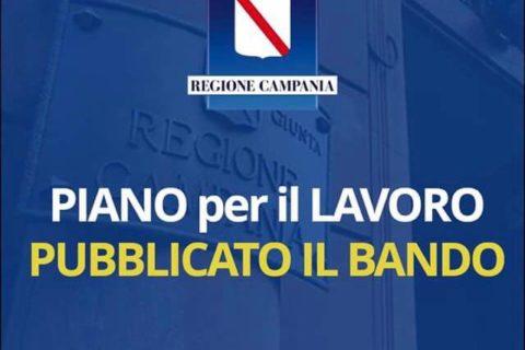 Piano per il lavoro della regione Campania: pubblicato il bando